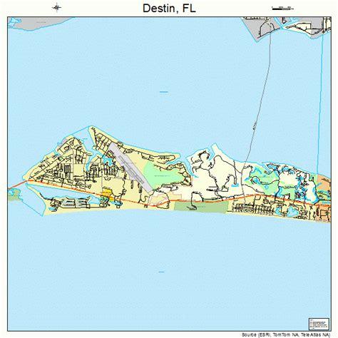 map of destin florida area destin florida map 1217325