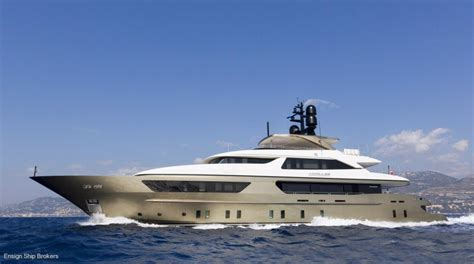 yacht ensign sanlorenzo 46m steel for sale ensign ship brokers