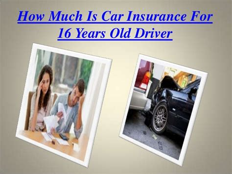 how much is insurance how much is car insurance for a 16 year