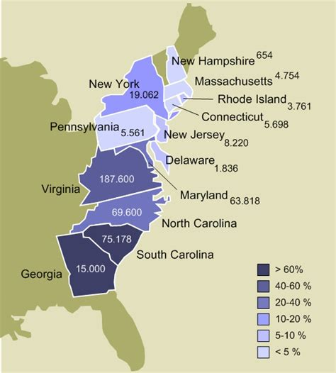 13 Colonies Sections by File Slavery In The 13 Colonies Jpg