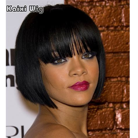 Hairstyle Wigs For Black by Black Bob Wigs American Wigs For Black