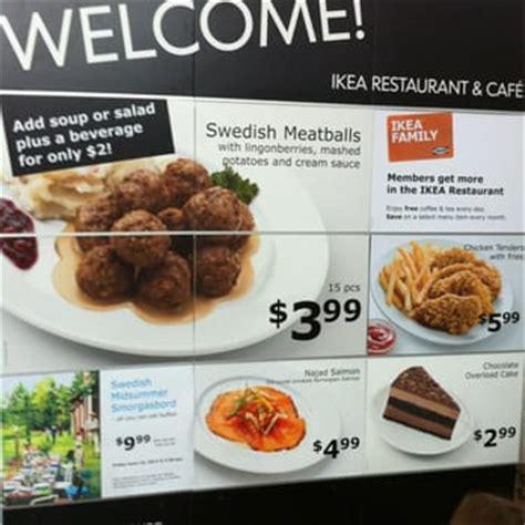 Menu Ikea Serpong ikea restaurant menu www pixshark images galleries with a bite