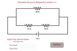 resistors in parallel power dissipation resistor power dissipation series parallel 28 images power dissipation in resistors in