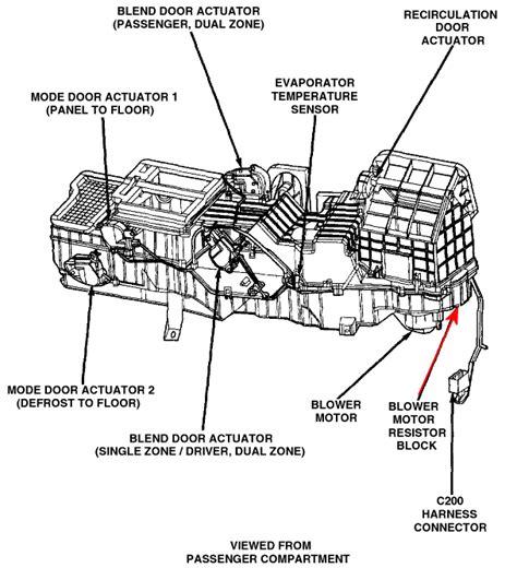 durango blower motor resistor location dodge durango blower resistor location get free image about wiring diagram