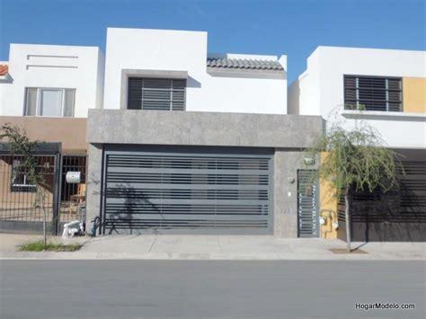 fachadas de garage port 243 n moderno de cochera puertas de garage pinterest