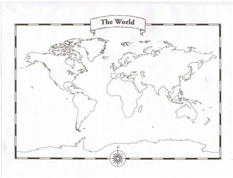 printable labeled world map for students printable world map with labels sulphur paper your