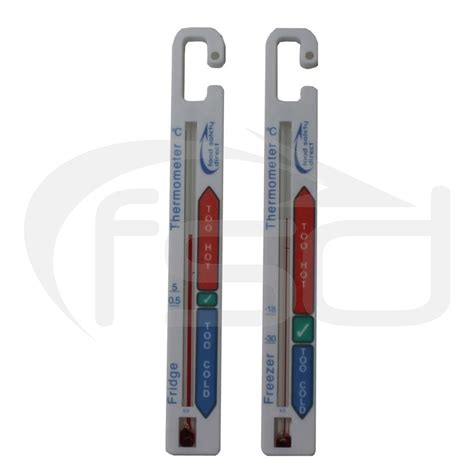 Thermometer Freezer fsd pack fridge and freezer thermometers fridge