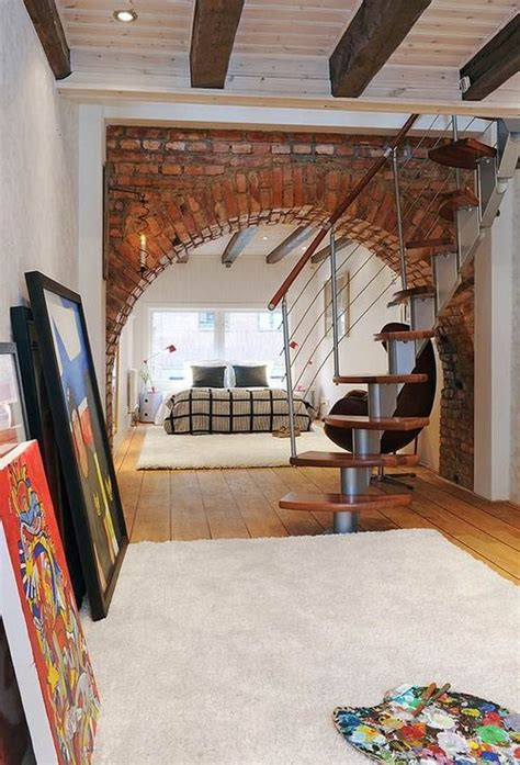 interior brick arch casa pinterest