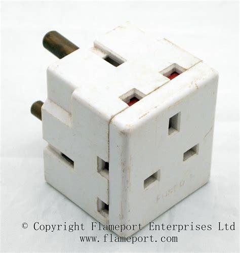 Three Way L Socket by 3 Way Lyvia 13a Flat Pin To 15a Pin