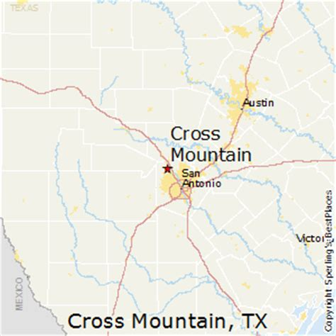 crossroads texas map best places to live in cross mountain texas