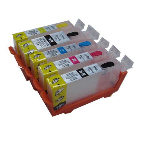 Fast Print Chip Pisah Autoreset Canon Ip3600 1 Set pgi 520 refillable ink cartridge for canon ip3600 ip4600 ip4700 mp540 mp550 mp560 mp620 mp630