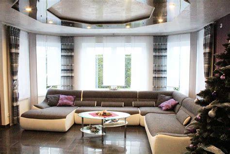 vorhänge mit querbehang wohnzimmer modern m 246 bel
