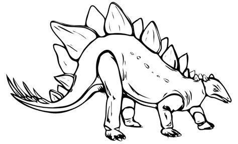 stegosaurus coloring page az coloring pages