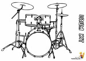 coloring set pounding drums printables drums free conga