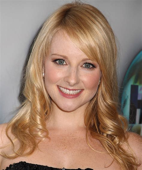 Hair Cuts Long Hair Theory | melissa rauch long wavy formal hairstyle with side swept