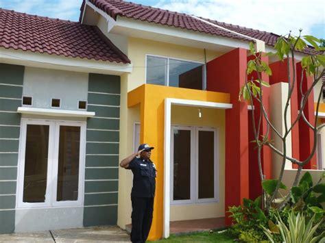 gambar desain warna rumah contoh warna cat rumah minimalis sederhana gambar desain