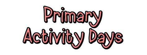 Activity Day On Activity Days activity days activity days modesty