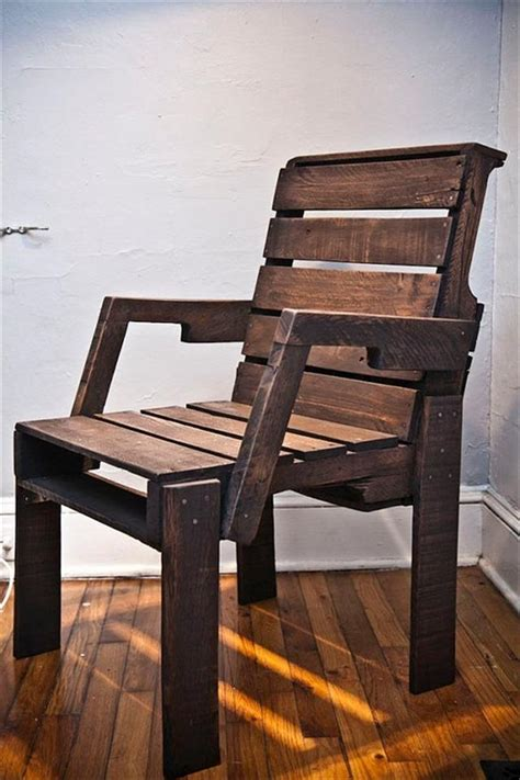 homemade recliner chair 31 diy pallet chair ideas pallet furniture plans