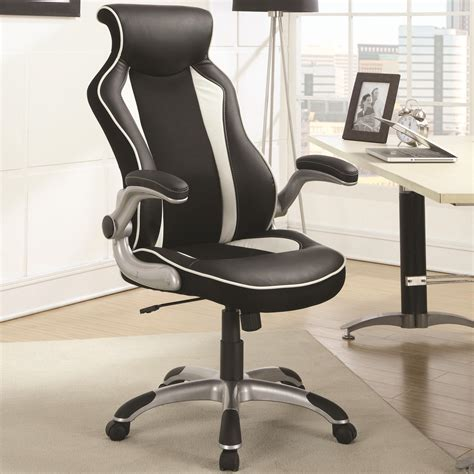 coaster office furniture coaster office chairs office task chair with race car seat