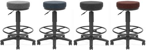 Office Stools by Ofm Backless Office Stool With Drafting Foot Rest 902 Dk Free Shipping