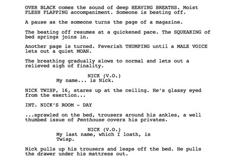 black mirror monologue 5 of the best movie scripts to learn from in each genre