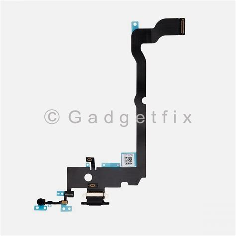 lighting charger charging port dock connector flex cable mic for iphone xs max 231445412866