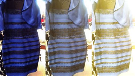 color dresses black blue or gold white dress explained