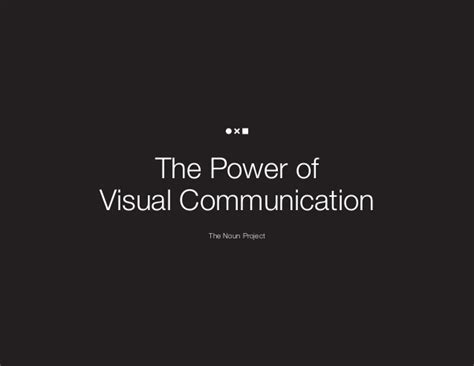 visual communication design quotes the power of visual communication