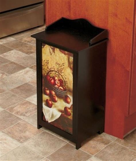 wooden bathroom bin wooden trash bins restroom bathroom kitchen waste basket