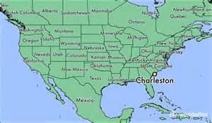charleston carolina map where is charleston sc where is charleston sc located