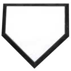 home plate baseball official size home plate longstreth