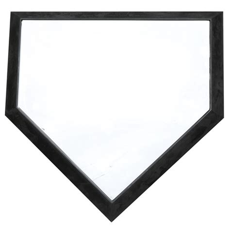 home plate official size home plate longstreth com