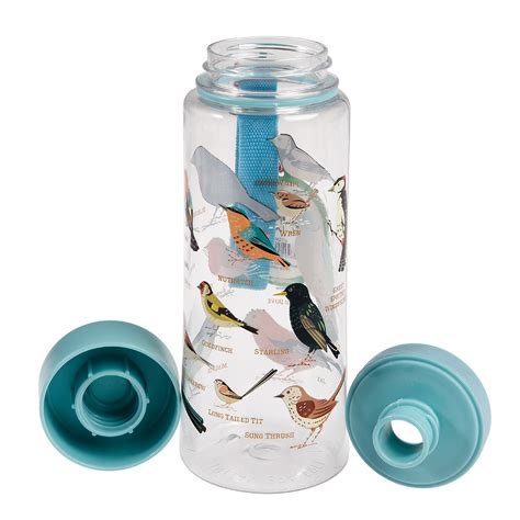 garden birds water bottle dotcomgiftshop