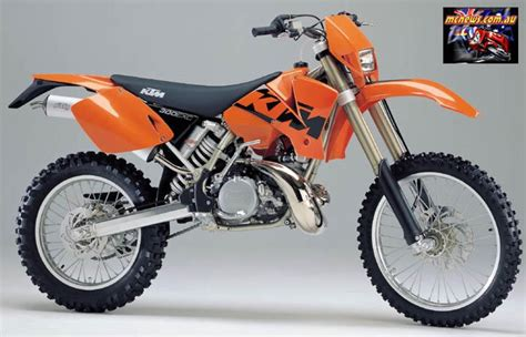 Ktm 300 Fuel Ratio Ktm 300 Exc 2000 Technical Data Power Fuel Consumption
