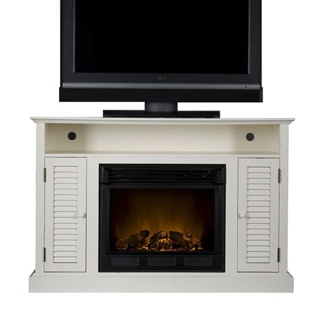 Sei Electric Fireplace by Sei Antebellum Media Console With Electric Fireplace Review