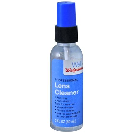 lens cleaner walgreens professional lens cleaner spray walgreens