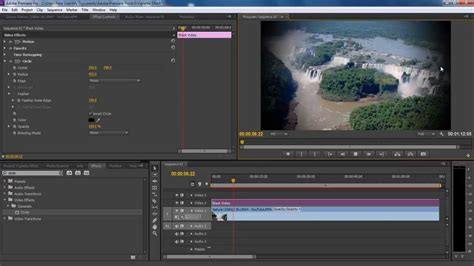 adobe premiere cs6 how to how to create a vignette effect in adobe premiere pro cs6