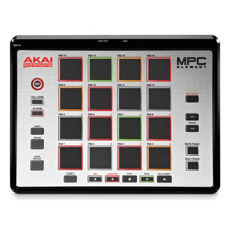 nearly new akai mpc element music production controller nearly new