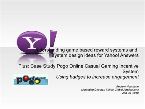 game design yahoo answers ah game based incentive systems