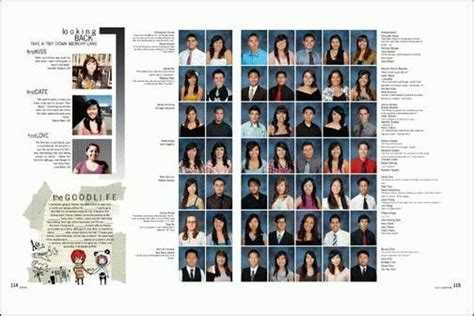 yearbook sections yearbook feature ideas yearbook portrait sections