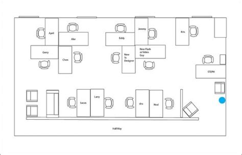 office layout planner 5 highly efficient office layouts