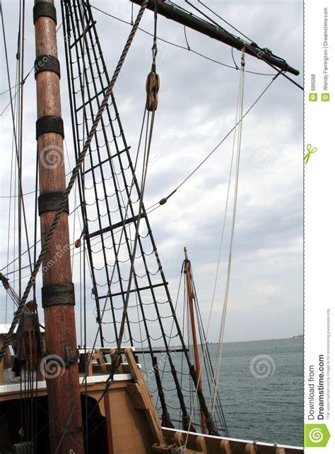 tall ship mast stock photo image  boat sailboat lake