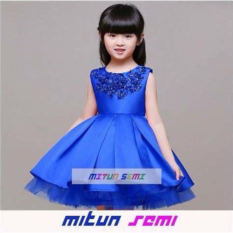 Dress Pesta Anak Import Korea Pink Dress Hitam Anak Gaun Pesta Anak gambar jual dress anak import pesta gaun biru gambar baju di rebanas rebanas