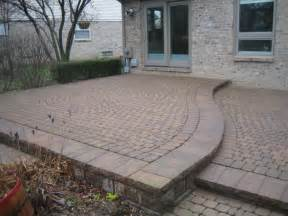 how to build a raised paver patio brick pavers canton plymouth northville novi michigan