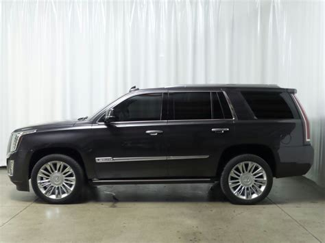 Certified Cadillac Escalade by Certified Pre Owned 2015 Cadillac Escalade Platinum Suv In