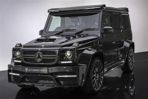 G Wagen by Mercedes G Wagen G7 Onyx Concept