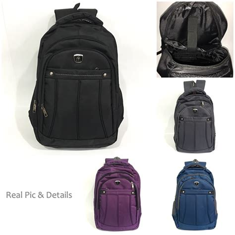 jual b6182 black tas ransel fashion grosirimpor