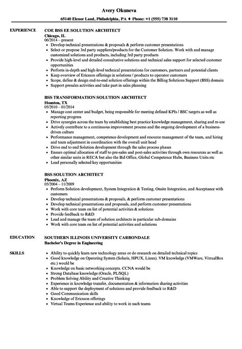 Obiee Architect Cover Letter by Principal Architect Sle Resume Subrogation Specialist Cover Letter Cable Tv Installer Cover