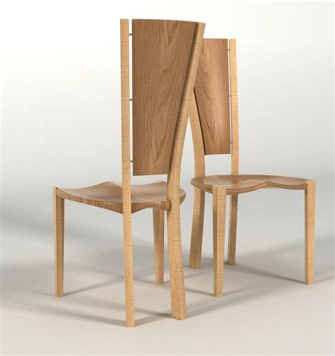 Ash Dining Chair Dining Chair In Elm Ripple Ash Makers Eye