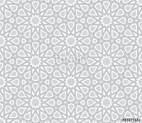 vector background pattern gray quot islamic star pattern light grey background vector
